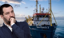 La Sea-Watch 3 rivela che Salvini è nudo
